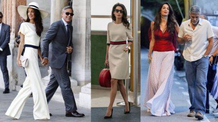 Street style de Amal Clooney