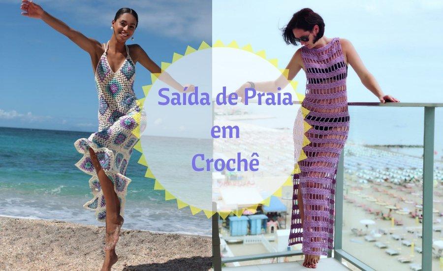 É verão: 16 modelos de saída de praia em croche, escolha o seu!