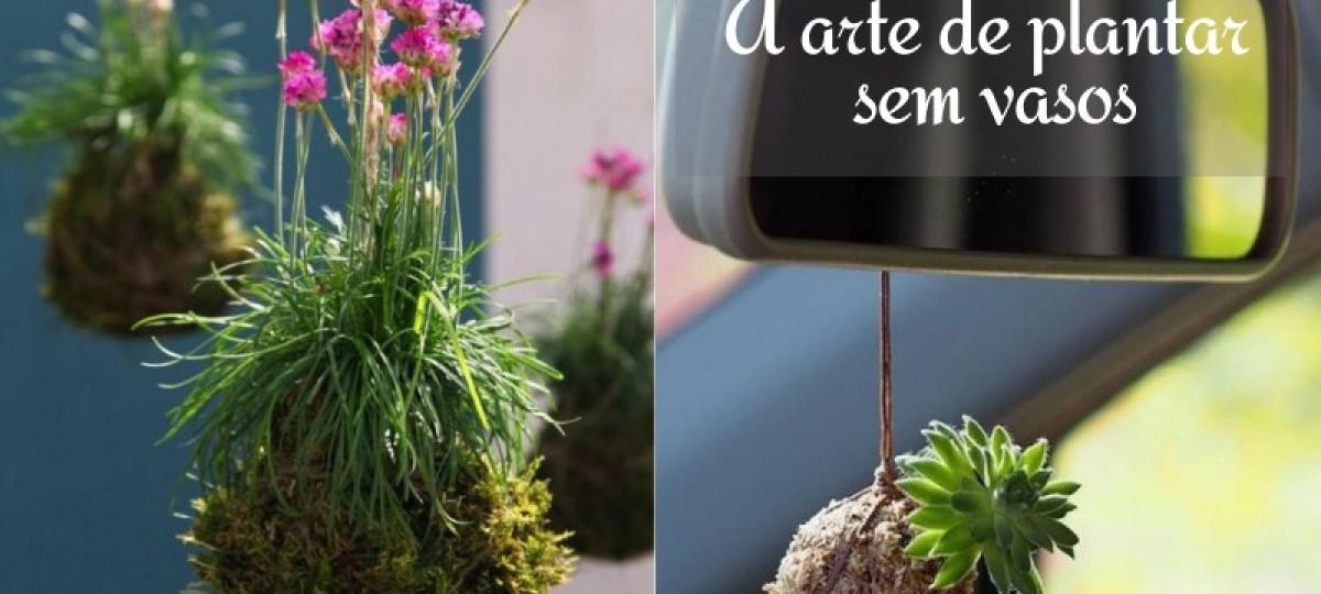 Kokedama: a arte de plantar sem vasos