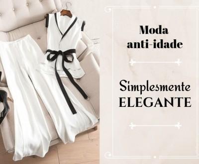 Moda anti-idade: Simplesmente elegante