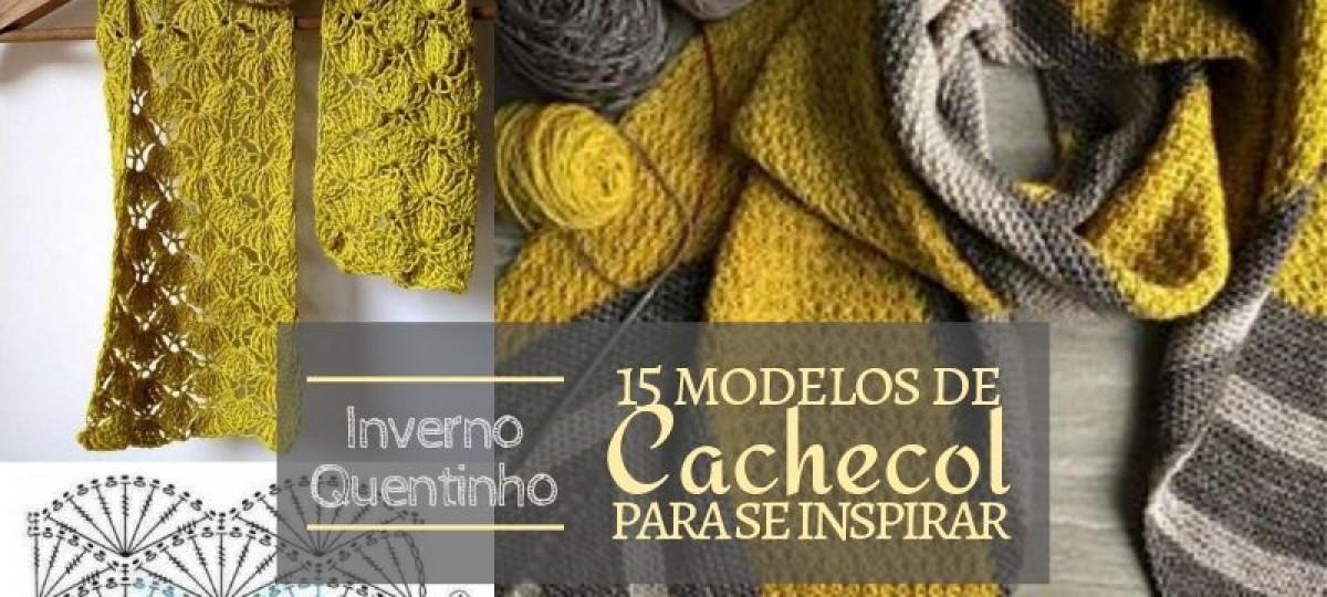 Inverno Quentinho: 15 modelos de cachecol para se inspirar