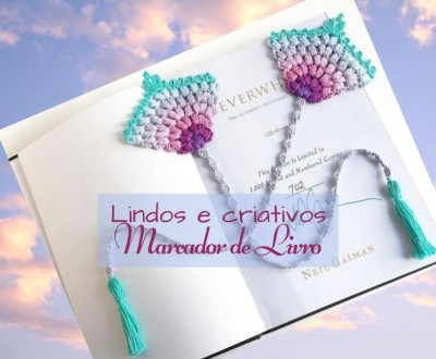 Faça e lucre: marcador de livro- criativos e delicados