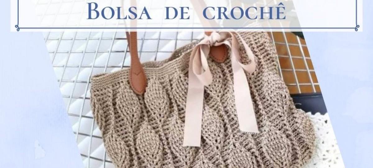 26 lindos e modernos modelos de bolsa de crochê
