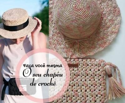 23 Modelos de chapéu de crochê
