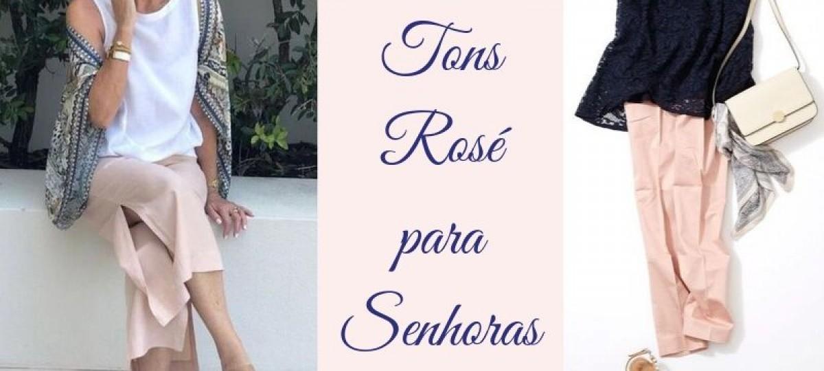 Moda anti-idade: moda rosé para senhoras