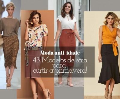 Moda anti-idade: 43 modelos de saia para curtir a primavera