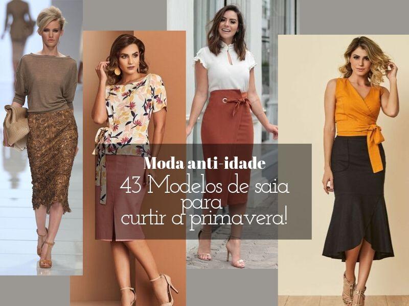 Moda anti-idade: 46 modelos de saia para curtir a primavera