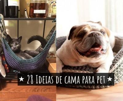 28 ideias de cama para pet