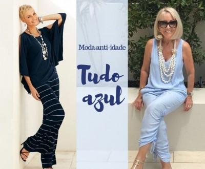 Moda anti-idade: Tudo Azul!