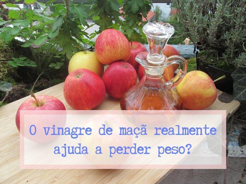 O vinagre de maçã realmente ajuda a perder o peso?