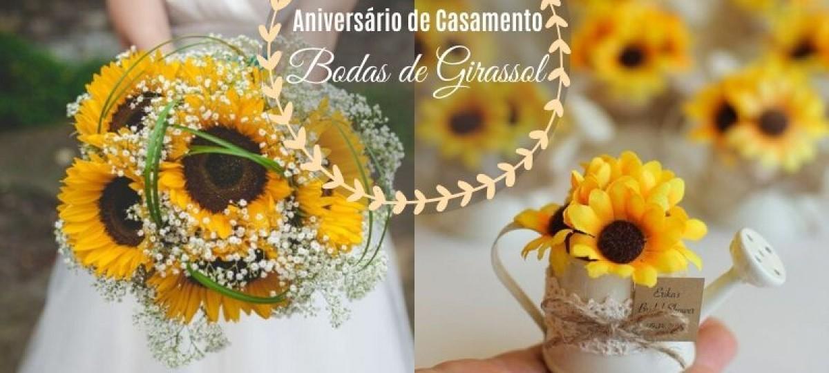 Aniversário de casamento: Bodas de Girassol