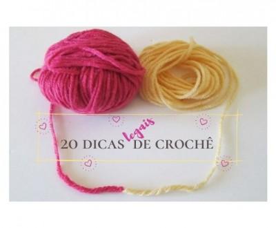 DIY - 20 Valiosas dicas de crochê