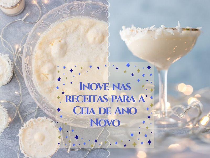 Inove nas receitas para a Ceia do Ano Novo