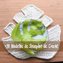 DIY: 20 Modelos de sousplat de crochê