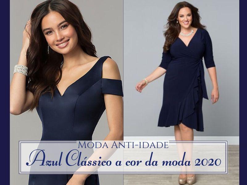 A cor da Moda 2020: Azul Clássico(Classic Blue)