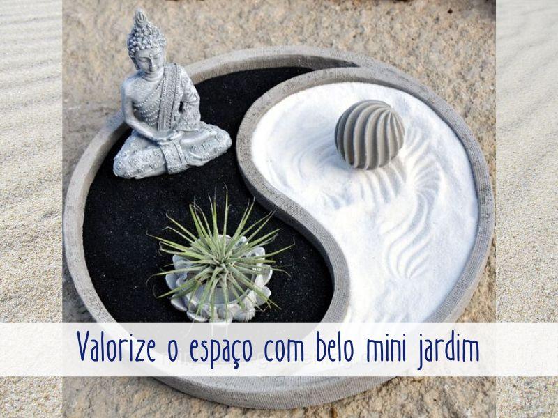 Valorize o espaço com um belo mini jardim