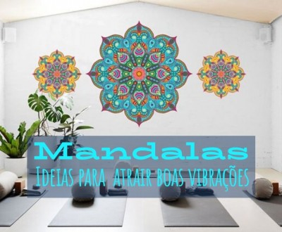 Mandalas para atrair boas vibrações