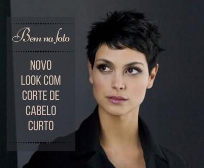 Bem na foto: Um novo look com corte de cabelo curto