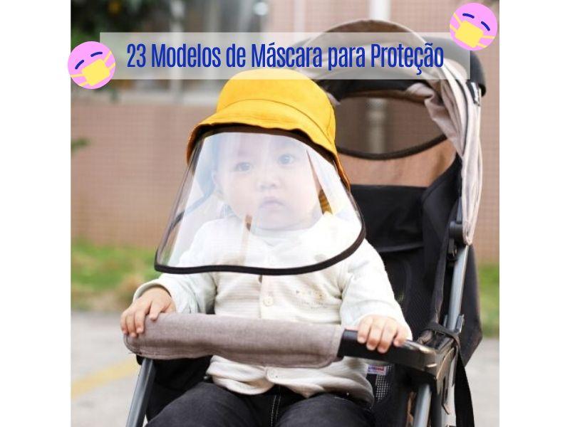 23 Modelos de Máscara para Proteção