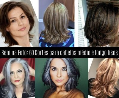 Bem na Foto: 60 cortes para cabelos médio e longo lisos