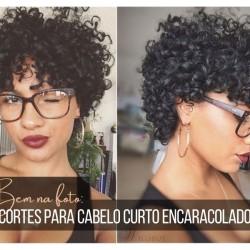 Bem na foto: +18 Cortes para cabelo curto encaracolado
