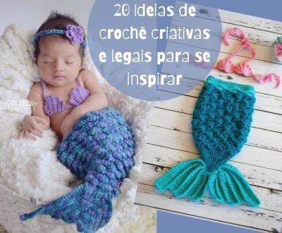 20 Ideias de crochê criativas e legais para se inspirar