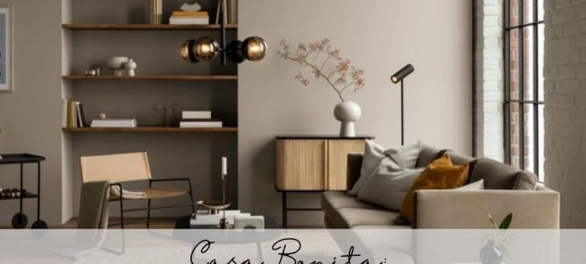 Casa Bonita: Cor discreta ou ousada nas paredes?