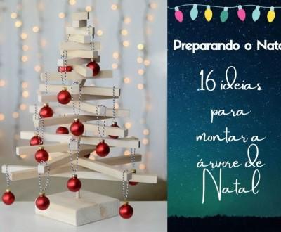 16 ideias para montar a árvore de Natal