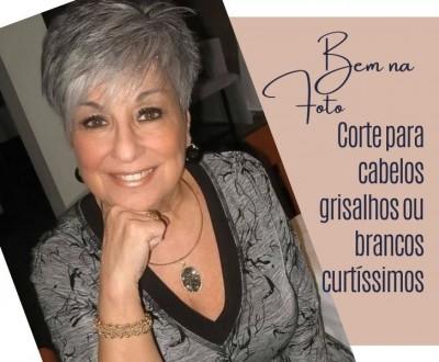26 ideias de corte para cabelos grisalhos ou brancos curtíssimos