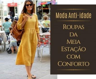 Moda Anti-idade: Roupas da Meia Estação com Conforto