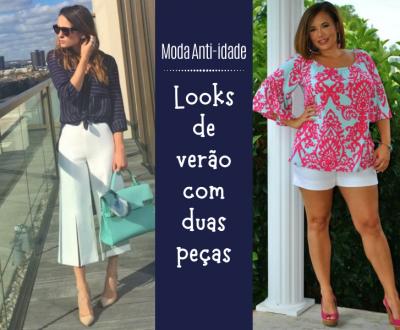 Moda para Senhoras: Looks de verão com duas peças