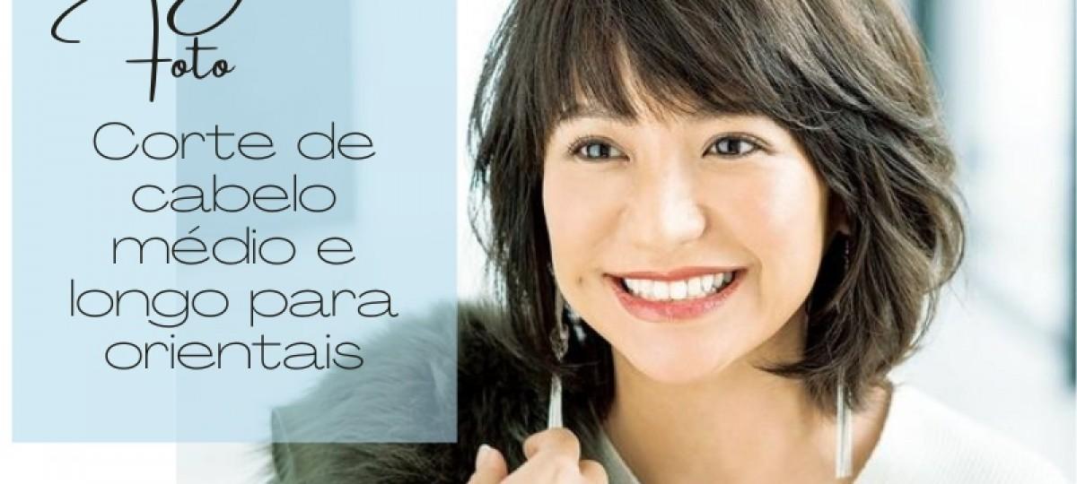 Bem na Foto: Cortes de cabelo médio e longo para orientais