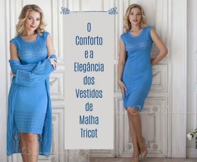 O Conforto e Elegância do Vestido de Malha Tricot