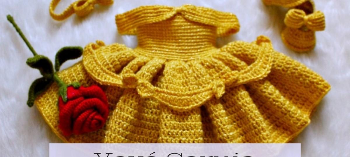 20 modelos de roupinhas de bebê de crochê