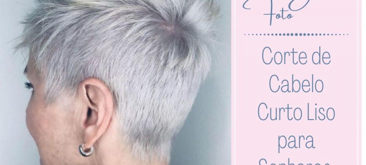 Bem na foto: Corte de cabelo liso para senhoras