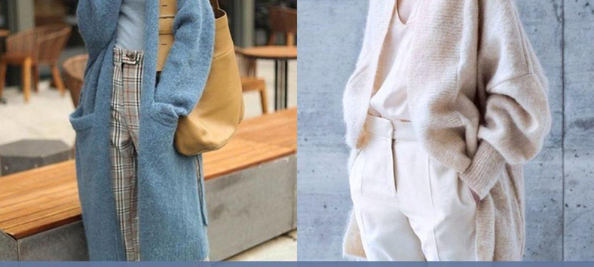 Moda anti-idade: 18 Modelos de Maxi Cardigan