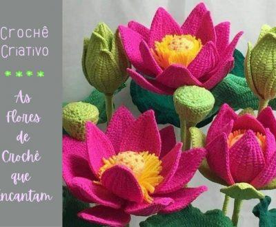 Crochê Criativo: As flores de Crochê que Encantam