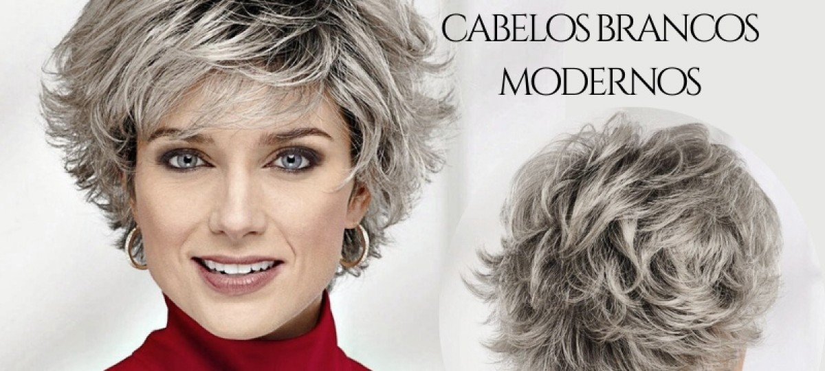 15 Ideias de cortes de cabelos brancos modernos