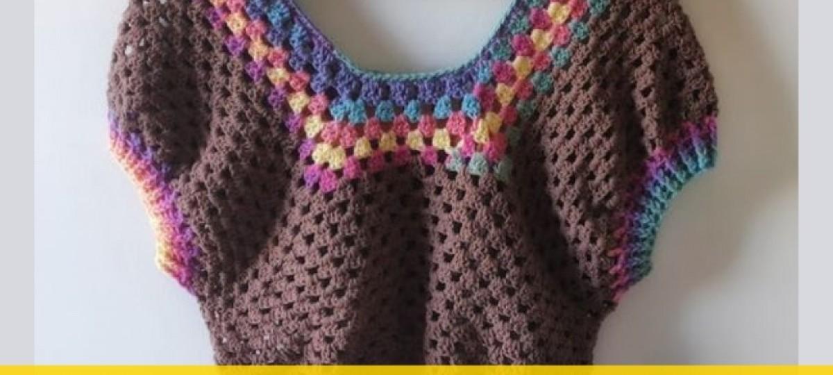 Blusinhas crop top de crochê para o verão: 18 modelos