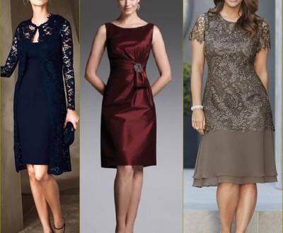 vestido curto para mãe da noiva ou noivo