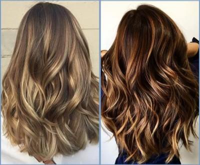 cortes de cabelo longo para senhoras - balayage