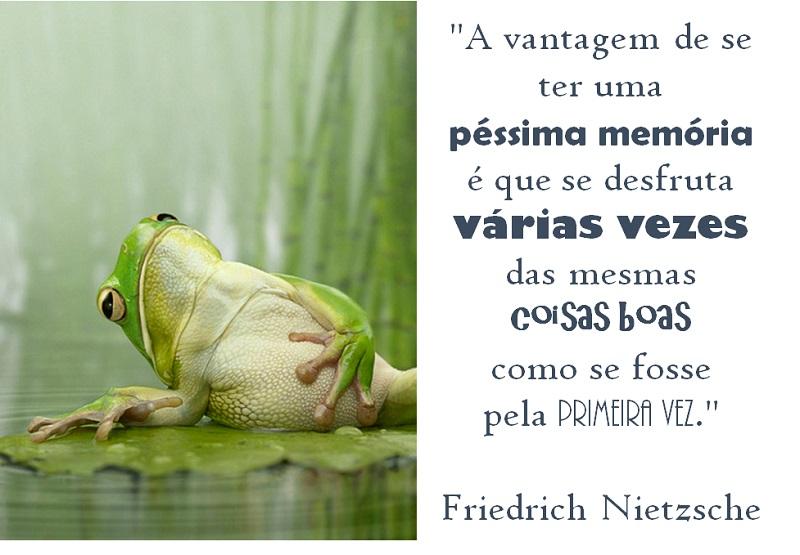 #assopraquesara - A vantagem de se ter uma péssima memória
